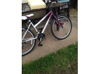 Womens bike from Argos, bought 3 weeks ago for work but no longer needed, paid £89 for it,