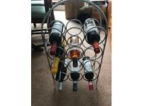 Chrome 12 bottle Wine Rack