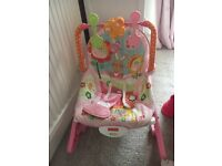 Fisher price infant to toddler rocker chair bouncer