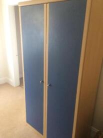 Gorgeous blue wardrobe