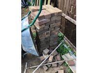 Block paving bricks - free to collect