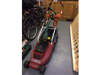 Mountfield electric lawnmower and qualcast strimmer
