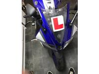 Yamaha yzf r125 2015 abs model