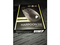 Harpoon RGB Gaming Mouse with box and warranty