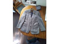 Hodges Mens Tweed Suit 42'' chest 29'' long British made tailoring