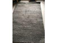Fluffy brown next rug