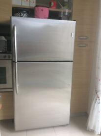 General Electric Refrigerator - Stainless Steel