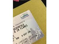 2 x Avenged, Disturbed & In Flames Glasgow tickets