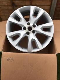 Vauxhall Antara 19inch Alloy Wheels x 2