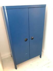 Blue wardrobe from Ikea