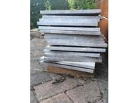 Solid Marble Tiles (x16)