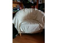Armchair with canvas cover (price negotiable)