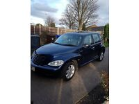 Pt Cruiser touring Saloon 2ltr 5 door 5 speed gearbox metallc blue colour