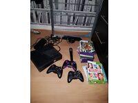 Xbox 360 plus kinnect bundle