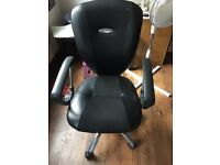 Adjustable office chair black