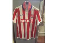 Stoke City Football Shirt Size M