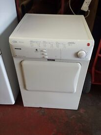 hoover 6kg rear vented tumble dryer