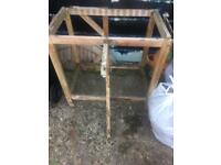 Garden Table Frame - no top