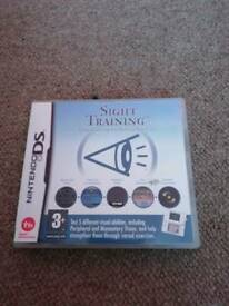 2 x D. S game sight trainer
