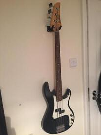 Bass guitar and acoustic collection/ delivery extra depending how far