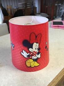 Minnie Mouse lamp shade