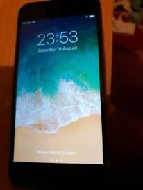 IPhone 6s Silver Black 64GB Unlocked