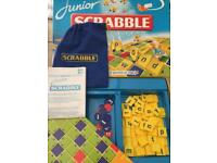 3x popular kids Board games - scrabble, monopoly, snakes and ladders