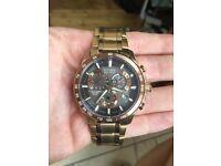 Citizen Eco-Drive Perpetual Men's Chronograph Gold Watch