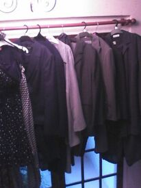 BARGAINS. £REDUCED.LADIES TROUSER SUITS/OTHER ITEMS. ++ . SIZES 14 TO 18