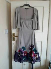 Beautiful silkcotton mix mother of the bride dressby Coast. Worn once. Over £150 new.