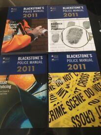 Blackstone's police manuals x 4