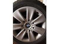 Dunlop winter tyres with BMW steel wheels