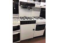 50CM WHITE EYE LEVEL GAS COOKER GRILL/OVEN