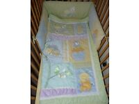 4 Pice KIDS LINE Exclusive of Decoration COT/BED Set Like New!
