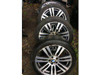 BMW E70 X5 20'' MSPORT ALLOY WHEEL FULL SET FOR SALE CALL FOR ANY INFO THANKS