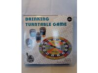 Drinking turntable game - BRAND NEW