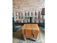 Small leather box chair (16)