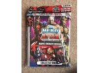 BRAND NEW TOPPS HERO ATTAX TRADING CARD GAME MARVEL CINEMATIC UNIVERSE COLLECTOR BINDER
