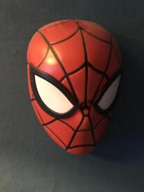 Spider-Man night light wall mounted lamp