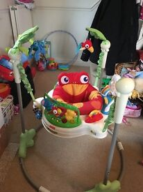 Fisher Price Rainforest Jumperoo. In original box, with instructions. Very good condition.