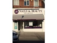 TRAINEE/APPRENTICE BEAUTY THERAPIST WANTED & EXPERIENCED BEAUTY THERAPIST on SUNDAY & MONDAY