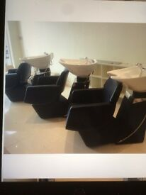 """Brand New Luxury """"complete Hair Salon Furniture For Sale."""