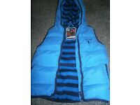 Boys Next Helicopter Bodywarmer Brand New 3-4years