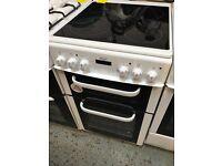 New Graded Bush 50cm Ceramic Electric Cooker - White