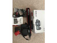 Canon EOS 6D 20.2MP digital SLR camera black body only