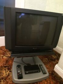 Phillips Tv & Freeview box