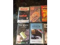 Job lot 22 cassette tapes