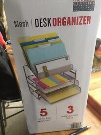 Office accessories - SEVILLE Mesh Desk Organiser