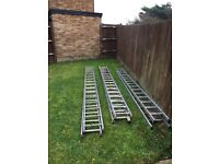 Heavy duty ladders
