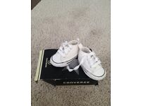 Baby Converse crib shoes, Size 1